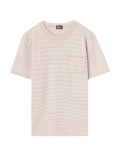 ドルモア(Drumohr)のBorder Linen Crew-Neck Knit KNIT / ニット