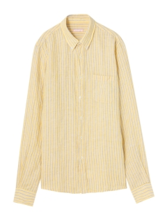 カプリ(CAPRI)のChalk Stripe Linen Shirt SHIRTS / シャツ