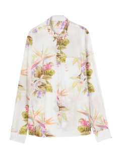カプリ(CAPRI)のFlower Printed Shirt SHIRTS / シャツ