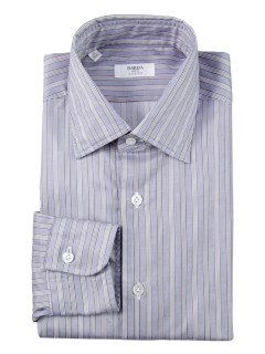 バルバ(BARBA)のBarba Culto Stripe Shirt Blue SHIRTS / シャツ