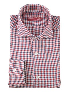 バルバ(BARBA)のBarba Dandylife Gun Club Check Shirts Red SHIRTS / シャツ