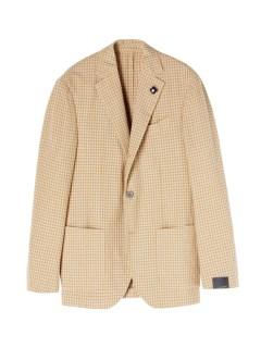 ラルディーニ(LARDINI)のLardini 3B Gingham Check Jacket JACKETS / ジャケット