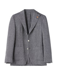 ガブリエレ パジーニ(Gabriele Pasini)のGabriele Pasini Geometric Patterned Jacket JACKETS / ジャケット