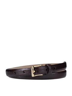 シモノゴダール(Simonnot Godard)のGold Buckle-Lizard belt BELTS / ベルト