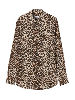 エキプモン(EQUIPMENT)のEQUIPMENT Leopard Printed Silk SHIRTS & BLOUSE / シャツ & ブラウス