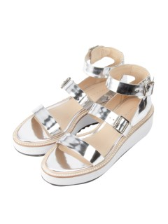 ロフラーランドール(LOEFFLER RANDALL)のLOEFFLER RANDALL Pia Buckle Wedge in SHOES / シューズ